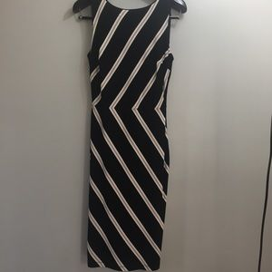 WHBM sleeveless sheath Dress. Size 8